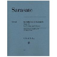Sarasate,  P. d.: Introduction et Tarentelle Op. 43 für Violine und Klavier
