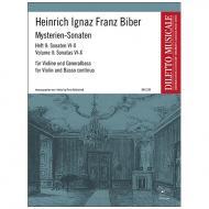 Biber, H. I. F.: Mysterien-Sonaten Band 2
