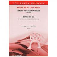 Schmelzer, J. H.: Violinsonate Cu Cu