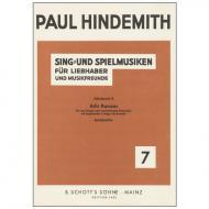 Hindemith, P.: Schulwerk Op. 44 Nr. 2