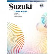Suzuki Violin School Vol. 7 (+CD)