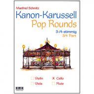 Schmitz, M.: Kanon-Karussell – Pop Rounds 3-4-stimmig (Violoncello)
