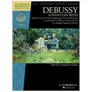 Debussy, C.: 16 Piano Favorites