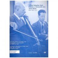 Bach, J. S. / Casals, P. / Tobel, R. v.: 6 Cello-Suites BWV 1007-1012