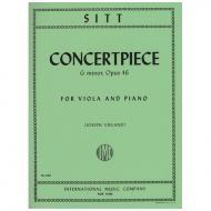 Sitt, H.: Konzertstück Op. 46 g-Moll