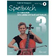 Koeppen, G.: Cello spielen mit Spaß und Fantasie Band 3 (+Online-Audio) - Spielbuch