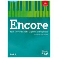 ABRSM: Encore – Your favourite ABRSM violin exam pieces Book 3 Grade 5 & 6