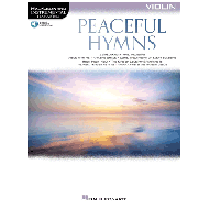 Peaceful Hymns for Violin (+Online Audio)