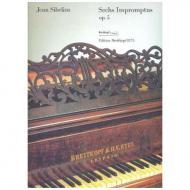 Sibelius, J.: Sechs Impromptus Op. 5