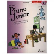 Heumann, H.-G.: Piano Junior – 4 Theory Book (+Online Access)