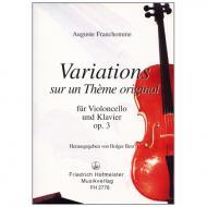 Franchomme, A.: Variations Op. 3 F-Dur