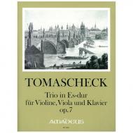 Tomaschek, W. J.: Klaviertrio Op. 7 Es-Dur