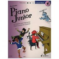 Heumann, H.-G.: Piano Junior – 4 Lesson Book (+Online Audio)