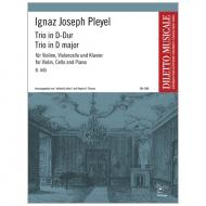 Pleyel, I. J.: Klaviertrio B. 445 D-Dur