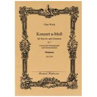 Wieck, C.: Premier Concert pour le Piano-Forte Op. 7 – Fassung für Klavier und Streichquintett