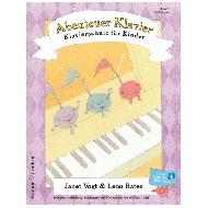 Vogt / Bates: Abenteuer Klavier Band 2 (+Online Audio)