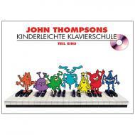 Thompson, J.: Kinderleichte Klavierschule Band 1 (+CD)