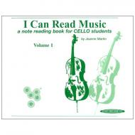 Martin, J.: I Can Read Music Volume 1