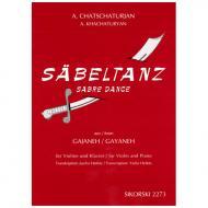 Chatschaturjan, A.: Säbeltanz aus dem Ballett Gajaneh