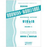 Whistler, H. S.: Beginning Method for Violin Vol. 2