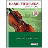 Dabczynski, A. H./Phillips, B.: Basic Fiddlers Philharmonic – Celtic Fiddle Tunes (+CD) Teacher's score