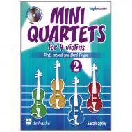 Stiles, S.: Mini Quartets Band 2 (+CD)