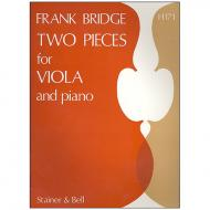 Bridge, F.: Two Pieces for Viola and Piano