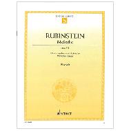 Rubinstein, A.: Melodie Op. 3/1 F-Dur