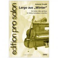 Vivaldi, A.: Largo aus »Winter«