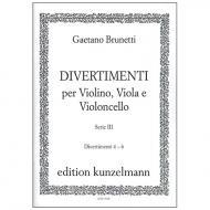 Brunetti, G.: Divertimenti 4-6