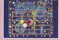 Art greeting card Fireworks music