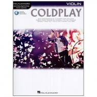 Coldplay for Violin (+Online Audio)