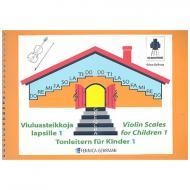 Szilvay, G. / C.: Colourstrings – Tonleitern für Kinder Band 1