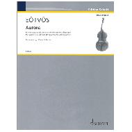 Eötvös, P.:  Aurora ( für Kontrabass solo und Streichorchester mit Akkordeon )
