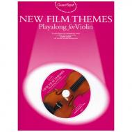 New Film Themes Playalong For Violin (+CD)