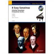 Heumann, H.-G.: 8 Leichte Sonatinen (+CD)
