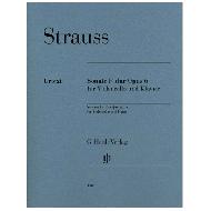 Strauss, R.: Violoncellosonate Op. 6 F-Dur
