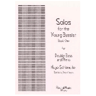 Schlemüller, H.: Solos for the young bassists Book 1