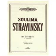 Stravinsky, S.: 6 Sonatinen für junge Pianisten Band I