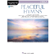 Peaceful Hymns for Viola (+Online Audio)