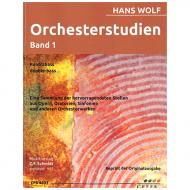 Wolf, H.: Orchesterstudien Band 1