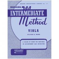 Rubank Intermediate Method for Viola
