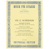 Scheidler, C. G.: Sonate D-Dur