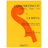 Bréval, J. B.: Concertino Nr. 4 C-Dur