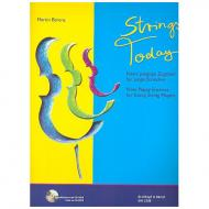 Bärenz, M.: Strings Today – Neun peppige Zugaben für junge Streicher (+CD-ROM)