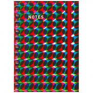 Noten-Notizblock Din A6
