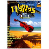 Latin Themes: 12 Vibrant Themes with Latin Flavour and Spirit (+CD)