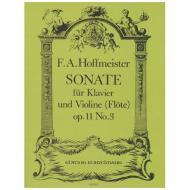 Hoffmeister, F. A.: Sonate Op. 11/3 Es-Dur