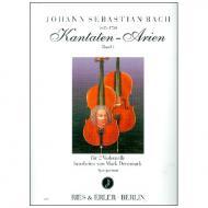 Bach, J. S.: Kantaten-Arien Band 1