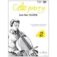 Allerme, J.-M.: Cello Party Band 2 (+CD)
